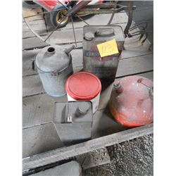 Gas Cans, Etc.