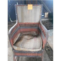 Antique Wicker Rocker