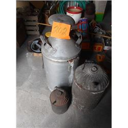 Milk Can, Gas Cans