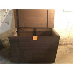 Large General Store Wooden Box, 3 x 5 ft.