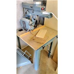 "Delta 12"" Radial Arm Saw, Works"
