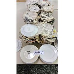 94 Pc Assorted Bread and Butter Plates