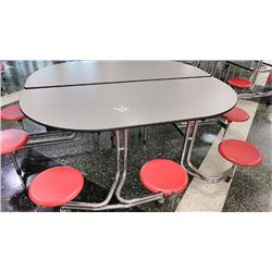 COMMERCIAL FOLDING CAFETERIA TABLES like new
