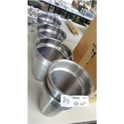 5 Stainless Steel Buffet Inserts