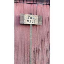 Antique FOR SALE Sign
