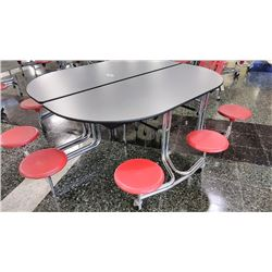 COMMERCIAL FOLDING CAFETERIA TABLE