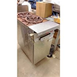 Vulcan Commercial Two Burner Gas Stove Works