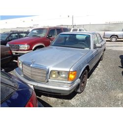 MERCEDES 300SD 1984 T-DONATION