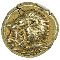 IONIA: Anonymous, ca. 550-500 BC, EL hecte (1/6 stater), Erythrae. NGC VF