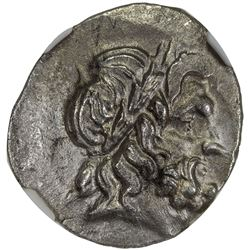 THESSALY: Thessalian League, ca. 2nd-1st centuries BC, AR stater (double victoriatus) (6.05g). NGC A