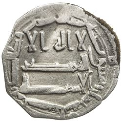 ABBASID OF YEMEN: al-Rashid, 786-809, AR local dirham (1.21g), San'a, AH188. VF