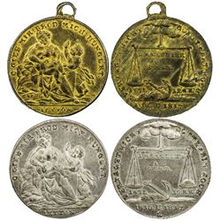 GERMANY: medal set, 1817. UNC