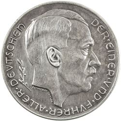 GERMANY: Third Reich: AR medal (21.14g), 1938. EF