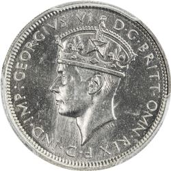 BRITISH WEST AFRICA: George VI, 1937-1952, 3 pence, 1939-KN. PCGS SP64