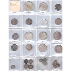 MOROCCO: LOT of 28 coins