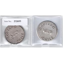 CHILE: LOT of two coins