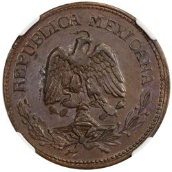MEXICO: Revolutionary Issue, AE 50 centavos, Campo Morado, Guerrero State, 1915. NGC MS61