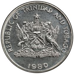 TRINIDAD & TOBAGO: 50 cents, 1980. PCGS SP66