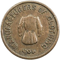 UNITED STATES: CIVIL WAR TOKEN