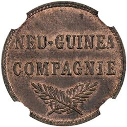 GERMAN NEW GUINEA: Wilhelm II, 1888-1918, pfennig, 1894-A. NGC MS62