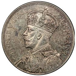 NEW ZEALAND: George V, 1910-1936, AR crown, 1935, PCGS graded MS64 (Proof in our opinion)