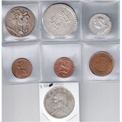 WORLDWIDE: LOT of 10 modern coins