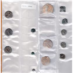 ANCIENT INDIA: LOT of 14 coins