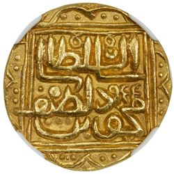 GUJARAT: Nasir al-Din Mahmud III, 1537-1553, AV tanka, NM (as always), AH955. NGC MS64