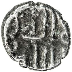 GOVERNORS OF SIND: Mansur (b. Jumhur al-Kalbi), ca. 748-751, AR damma (0.35g), NM, ND. VF