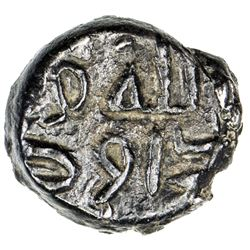 GOVERNORS OF SIND: Da'ud b. Yazid al-Muhallabi, ca. 800-820, AR damma (0.58g), NM, ND. VF-EF