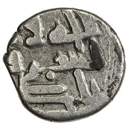 GOVERNORS OF SIND: Bishr (b. Da'ud al-Muhallabi), ca. 820-826, AR damma (0.51g), NM, ND. F-VF