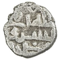 GOVERNORS OF SIND: Bishr (b. Da'ud al-Muhallabi), ca. 820-826, AR damma (0.42g), NM, ND. VG