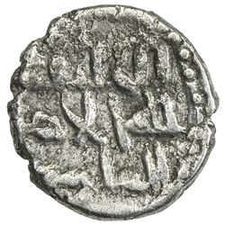 GOVERNORS OF SIND: Yahya, ca. 830+-, AR damma (0.58g), NM, ND. VF