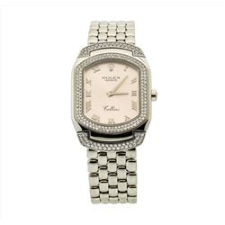 Rolex 18KT White Gold Cellini Cellissma Ladies Wristwatch