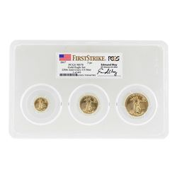 2017 American Gold Eagle 225th Anniversary Set PCGS MS70