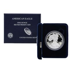 2013 $1 American Silver Eagle Proof Coin w/ Box