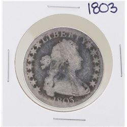 1803 Draped Bust Half Dollar Coin