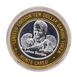 .999 Silver Monte Carlo Las Vegas, Nevada $10 Casino Limited Edition Gaming Toke