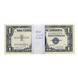 Lot of (25) Consecutive 1957A $1 Silver Certificate Notes