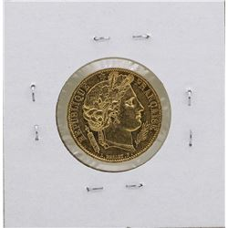 1850 France 20 Francs Gold Ceres Coin