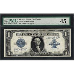 1923 $1 Silver Certificate Note Fr.238 PMG Choice Extremely Fine 45