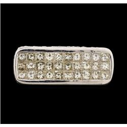 18KT White Gold 3.80 ctw Diamond Ring