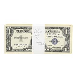 Lot of (200) 1957 $1 Silver Certificate Notes
