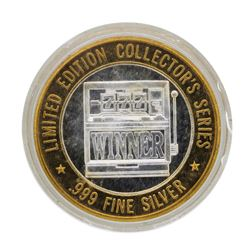 .999 Silver Mystic Lake Casino $10 Limited Edition Gaming Token