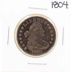 RARE 1804 Draped Bust Quarter Coin