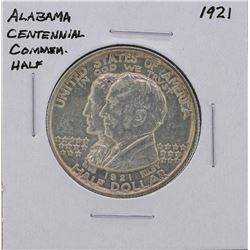 1921 Alabama Centennial Commemorative Half Dollar Silver Coin