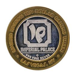 .999 Silver Imperial Palace Hotel & Casino Las Vegas $10 Limited Edition Gaming