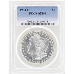 1904-O $1 Morgan Silver Dollar Coin PCGS MS64