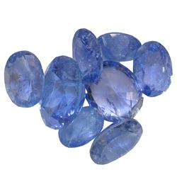 12.07 ctw Oval Mixed Tanzanite Parcel