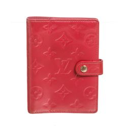 Louis Vuitton Pink Vernis Monogram Leather Small Agenda Cover